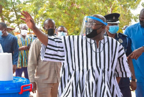 We're proud of you - Overlord of Mamprugu praises Veep 1
