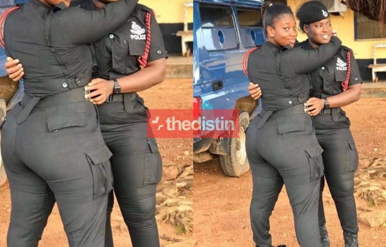 These Ghanaian Female Police Officers Are Turning Heads On Social Media With Their Big Nyash | Photo 15
