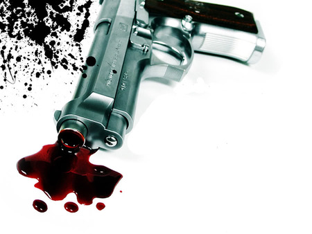 Woman shot dead by abusive husband at police station 15