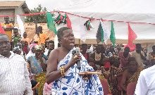Don't be deceived by the ongoing sod-cutting of projects - Nzema Akropong Chief to voters 28