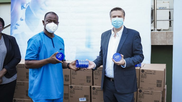 COVID-19: Beiersdorf Ghana Limited donates 50,000 pieces of Nivea Skin Care products to GHS 3