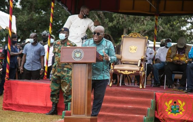 Akufo-Addo's vision and conviction restore dignity to Ghanaians 1