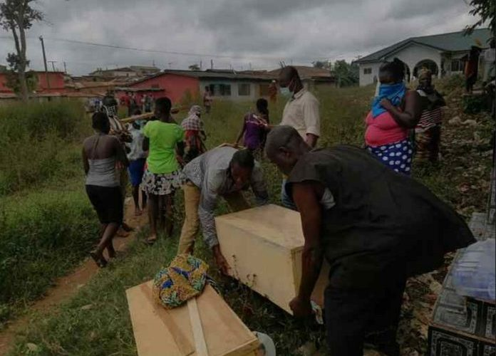 Cemetery reclaimed for football field expansion in Takoradi 2
