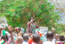 C/R: Naana Opoku-Agyemang hits home region with campaign 16
