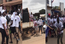 NPP Youths Defy Akufo-Addo, Rally Without Face Masks – VIDEO 11