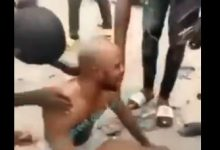 'Carry Your Money, I No Dey Do' - Suspected Money Ritualist Cries Out, Strips in Public (Video) 30