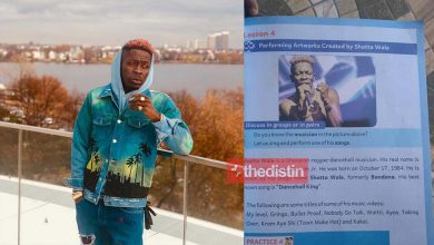 Shatta Wale Featured In GES Creative Art Test Book | Photo 25