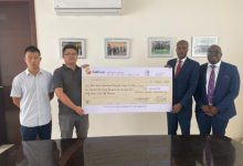 Imperial General Assurance pays contractors of Sissai River drain extension project 14
