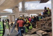 Pokuase interchange workers demonstrate over GH¢20 wage per day 6