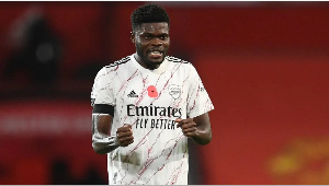 Thomas Partey commands global recognition after heroics against Manchester United 5