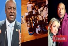 John Mahama And His Children Dine With Asma, The Algerian Wife Of His First Son Shafik Mahama, Video Drops 7