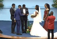 Bishop Charles Agyinasare gives out legally adopted daughter for marriage 13