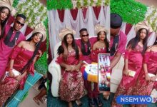 Video drop as Nigerian Man Marries Twin Sisters because They Can't Live without each Other 12