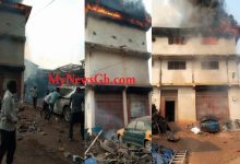 BREAKING News: Another fire explosion sweeps Suame Magazine; spare parts worth millions destroyed 8