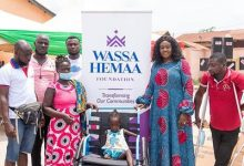 LAWYER BARBARA OTENG-GYASI DONATES TO PERSONS WITH DISABILITY 37